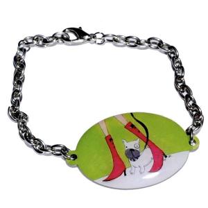 Bracelet métal bouledogue Boots