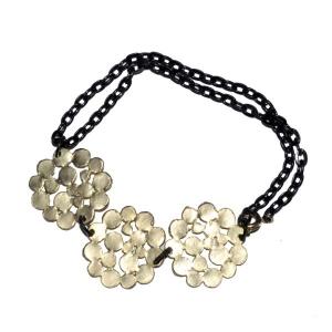 Bracelet ronds dorés