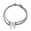 Bracelet fillette ajustable fleurettes