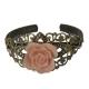 Bracelet vintage rose