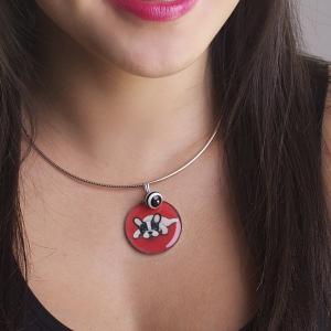 "Necklace & ""Dasha3"" pendant"