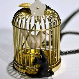 Sautoir Cage