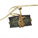 Bracelet vintage bouledogue