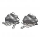 Boucles d'oreilles nuages